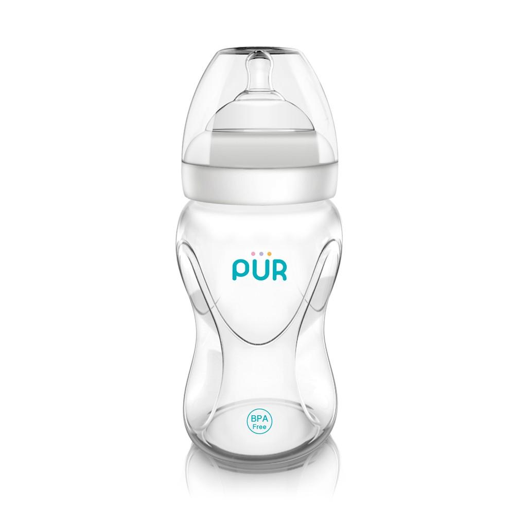 Bình sữa cổ rộng Pur Advanced Plus 250ml