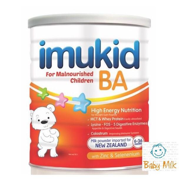Sữa imukid BA (900g) cho trẻ 6-36 tháng biếng ăn, suy dinh dưỡng, chậm lớn (date 2020)