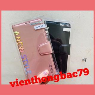 [ Hanman Oppo A15 / A15s ] Bao da Hanman có khe cắm thẻ tiện dụng