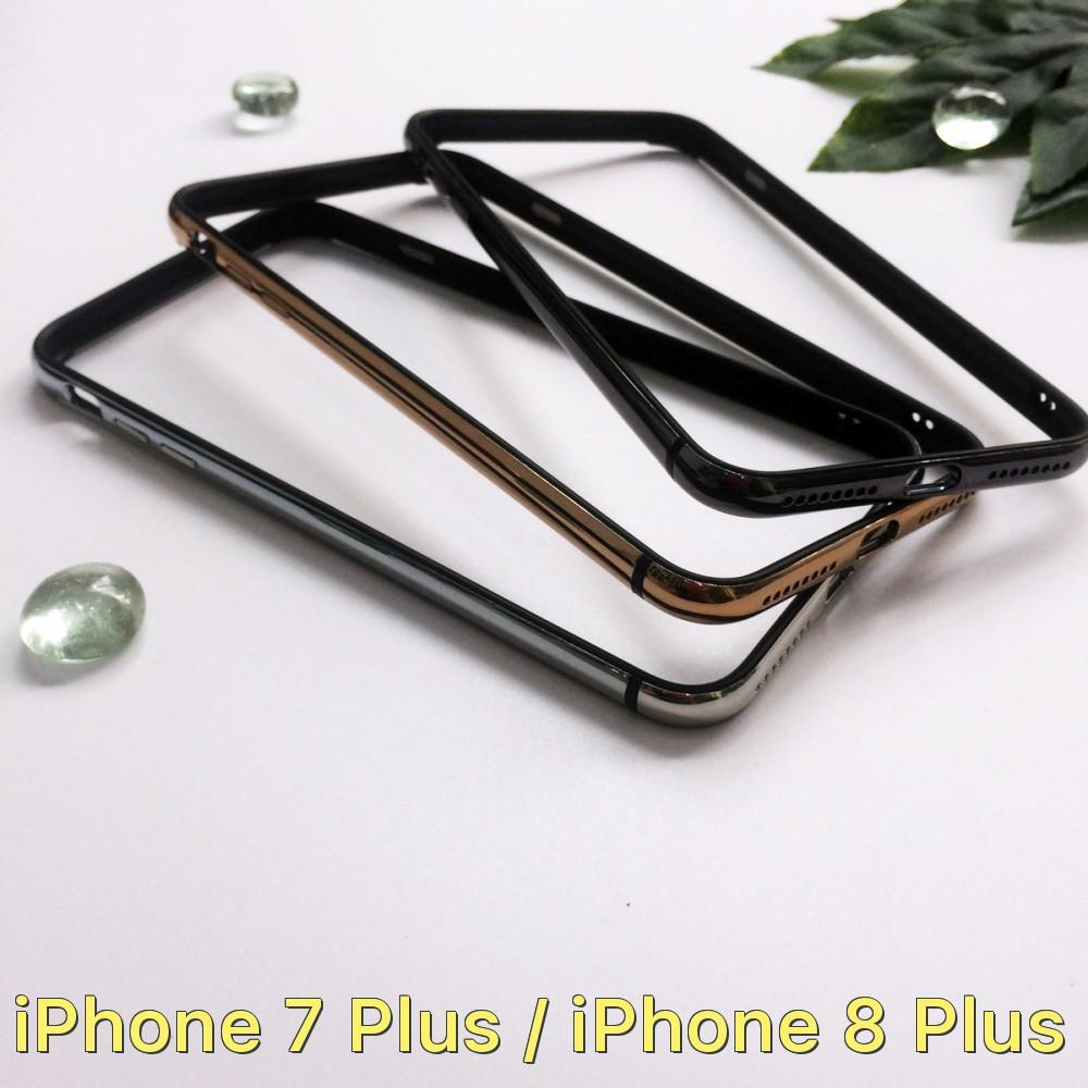 Viền máy bumper siêu dẻo cho iPhone 7 Plus / iPhone 8 Plus