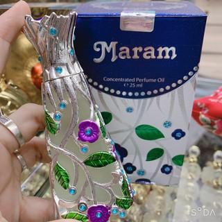 [Chính Hãng] Tinh dầu nội địa Dubai Maram - 25ml. Ngọt nhẹ như kẹo - thơm mát. Lưu hương 9-10h trên da thumbnail