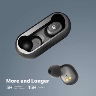 Tai Nghe SoundPEATS TRUFREE Âm Thanh Nổi 3D HiFi Vô Hình Nhỏ Gọn (Bluetooth 5.0)