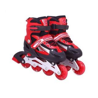 Giày Trượt Patin Đinh Tán Phát Sáng Tặng Kèm Túi Đựng Giày Tiện Dụng