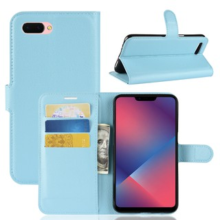 🎖OPPO A3 Leather Wallet Flip Case With Card Slot