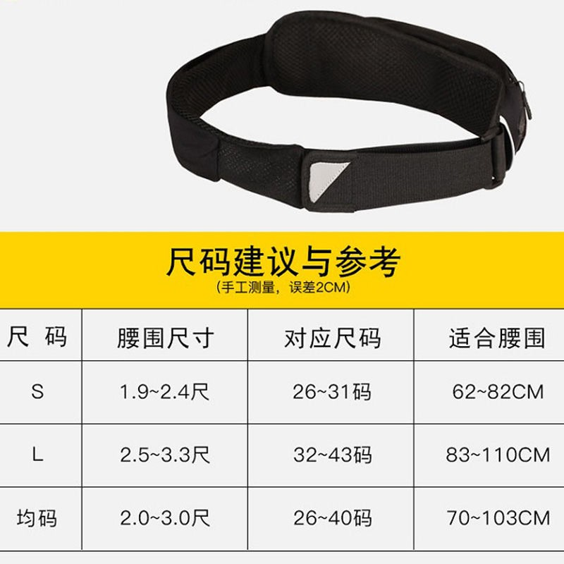 ♝▫Sports pockets men running female fitness multi-function contact phone package belt outdoor marathon equipment is sma