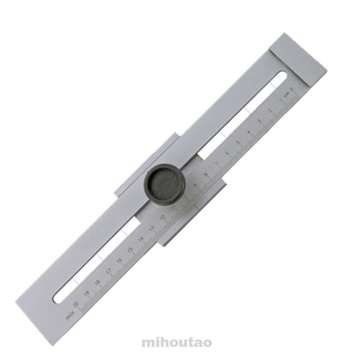 Useful Durable Stainless Steel Measuring Tool Wood Working Accuracy Marking Gauge Machine Accessories Laying Out