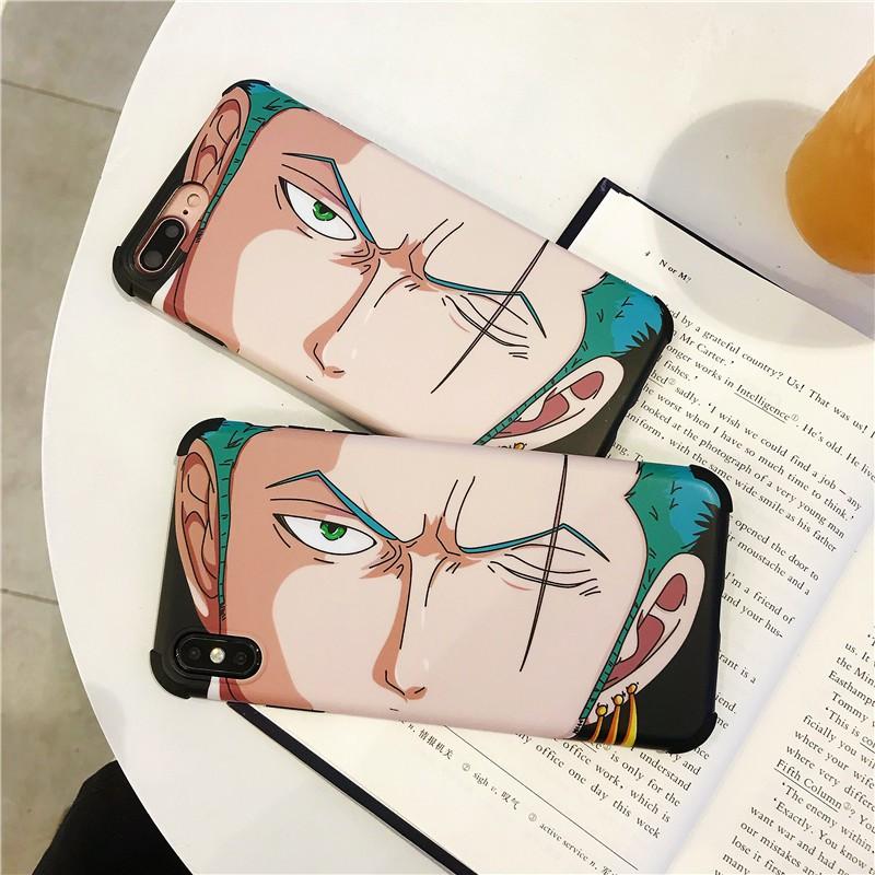 Ốp Lưng In Hình Nhân Vật Hoạt Hình One Piece Cho Iphone 7 8 Plus