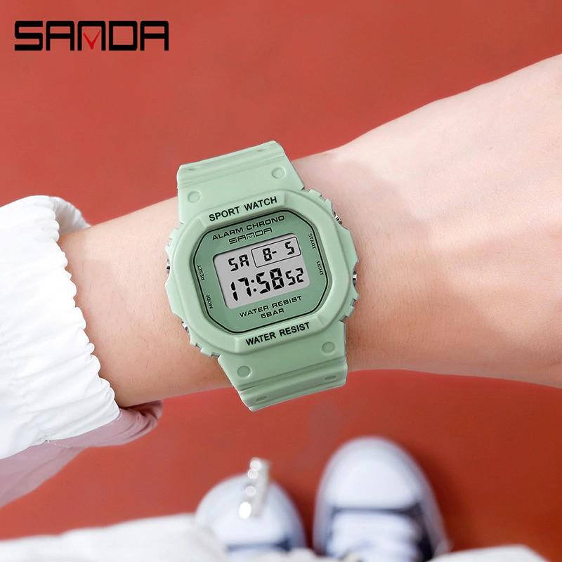 Đồng hồ Nữ thể thao SANDA LAYLA, Thương hiệu Cao Cấp Của Nhật, Chống Nước Tốt