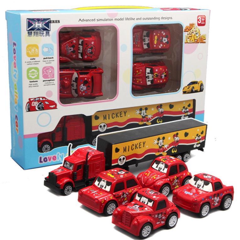 Mickey Children's Mini Pull Back Alloy Car Model Car Model