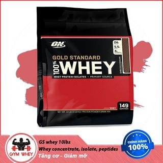 Sữa Tăng Cơ Cho Người Tập Gym Gold Standard 100% whey - Optimum Nutrition - 10lbs - Từ Mỹ thumbnail