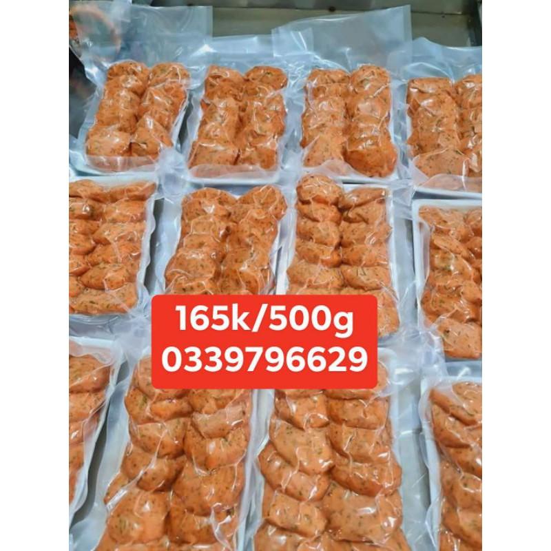 [Mã GROSALEHOT giảm 8% đơn 250K] Giò ,chả, xúc xích ....Cá Hồi Sa Pa Việt Nam 500g