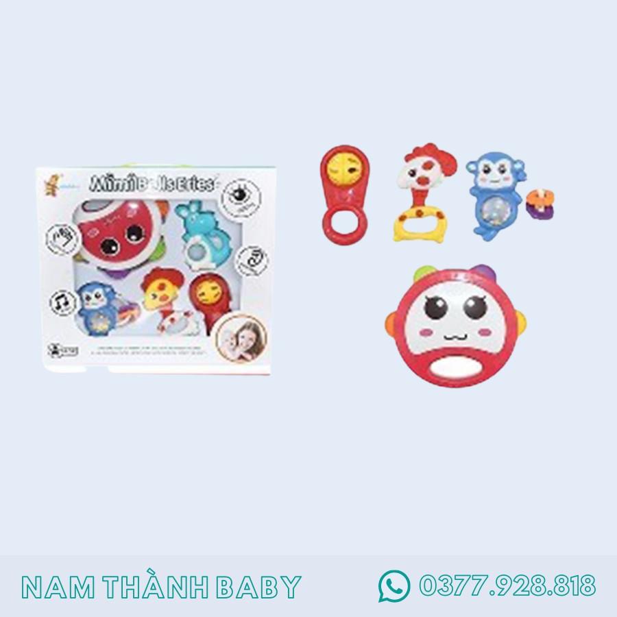 Hộp đồ chơi xúc xắc 4 món cho bé Toys House 776-B7 - Hàng chính hãng