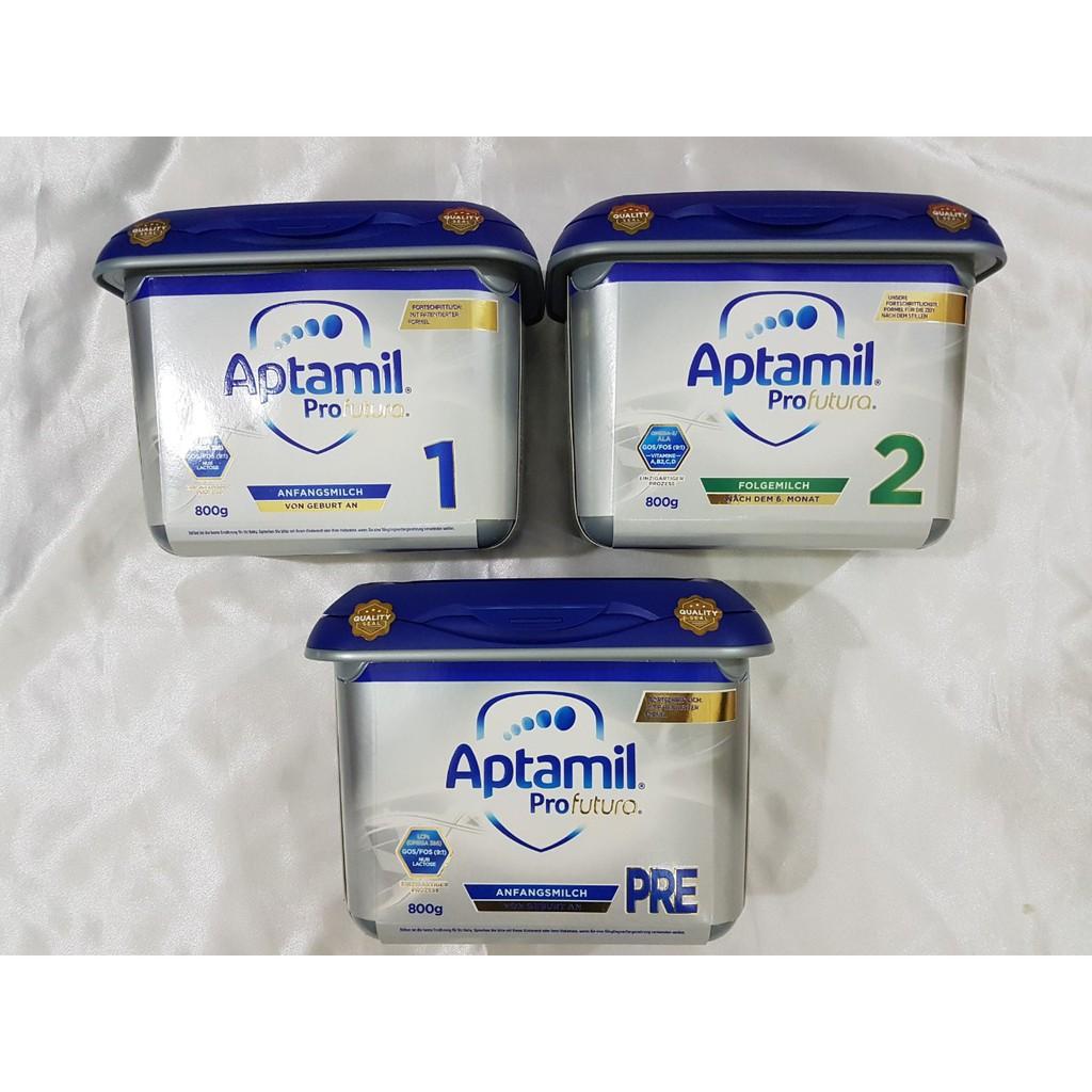Sữa Aptamil bạc các loại, hàng đủ bill, date mới