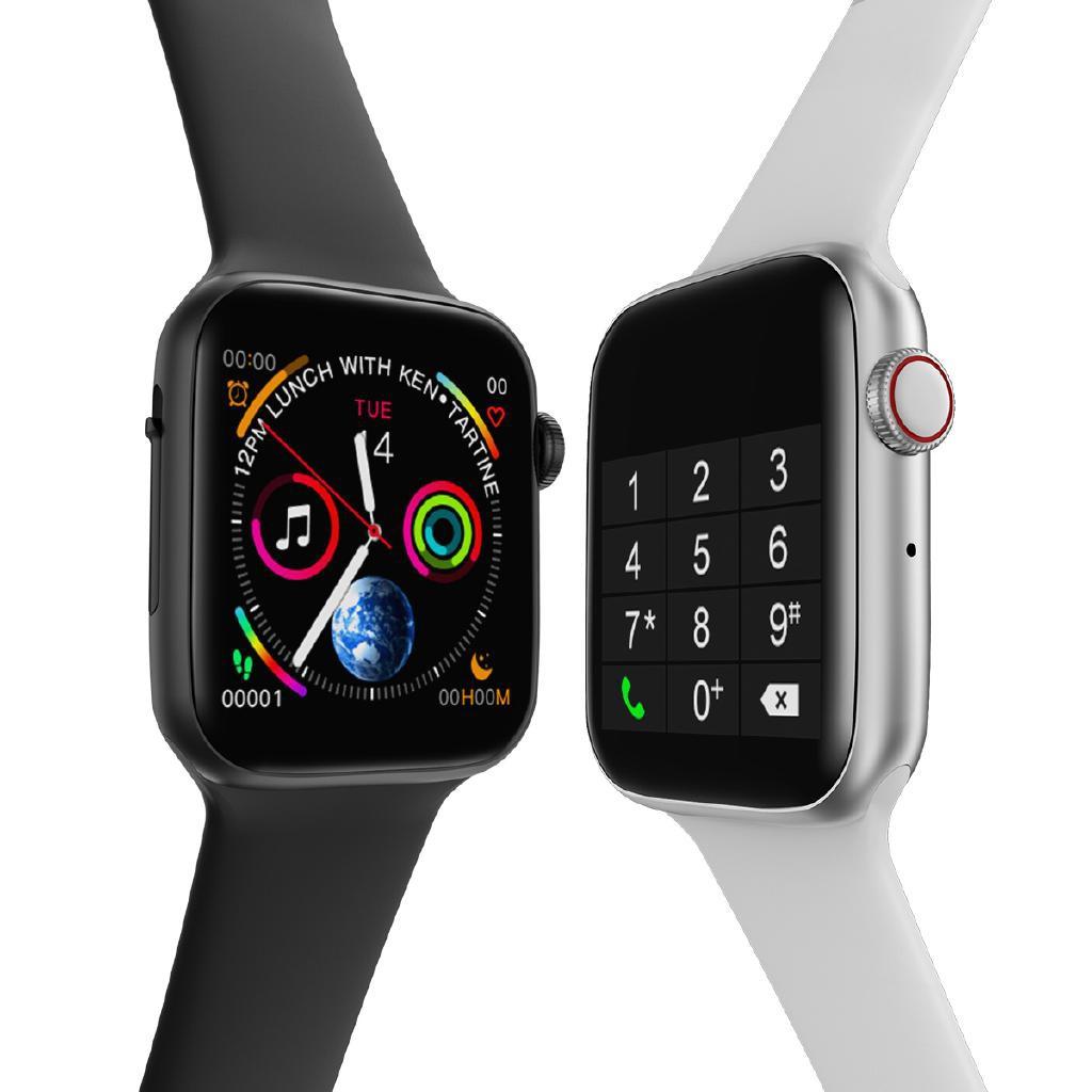 Đồng hồ thông minh W34 seri 4 kết nối bluetooth kiểu dáng apple watch
