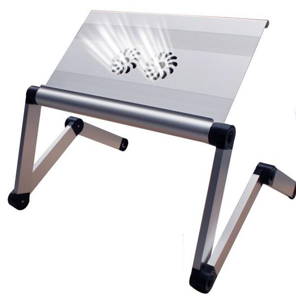Bàn Kê Laptop Cao Cấp Có Quạt Tản Nhiệt Omax A7 - Hàng Chính Hãng