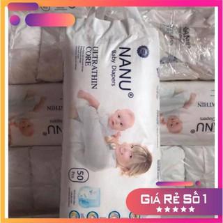 Combo 100 bỉm quần NaNu baby cho bé M100 L100 XL100 XXL100