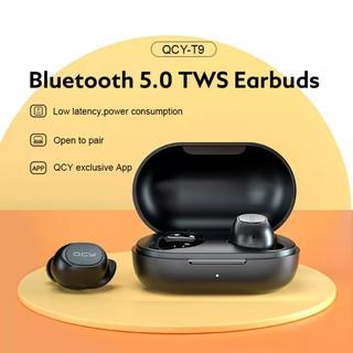 Tai nghe True Wireless In-ear QCY T9 Thiết Kế Chạm Thông Minh Bluetooth 5.0 Kháng Nước IPX4