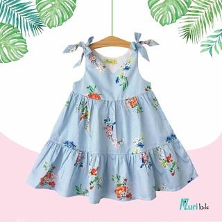 Đầm hoa bé gái mát mẻ dễ thương