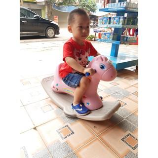 { Xả Kho } Xe Ngựa Bấp Bênh Cho Bé