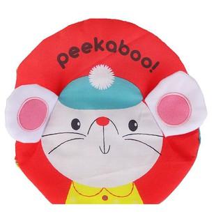 Cuốn sách vải ú oà Peekaboo cho các bé sơ sinh
