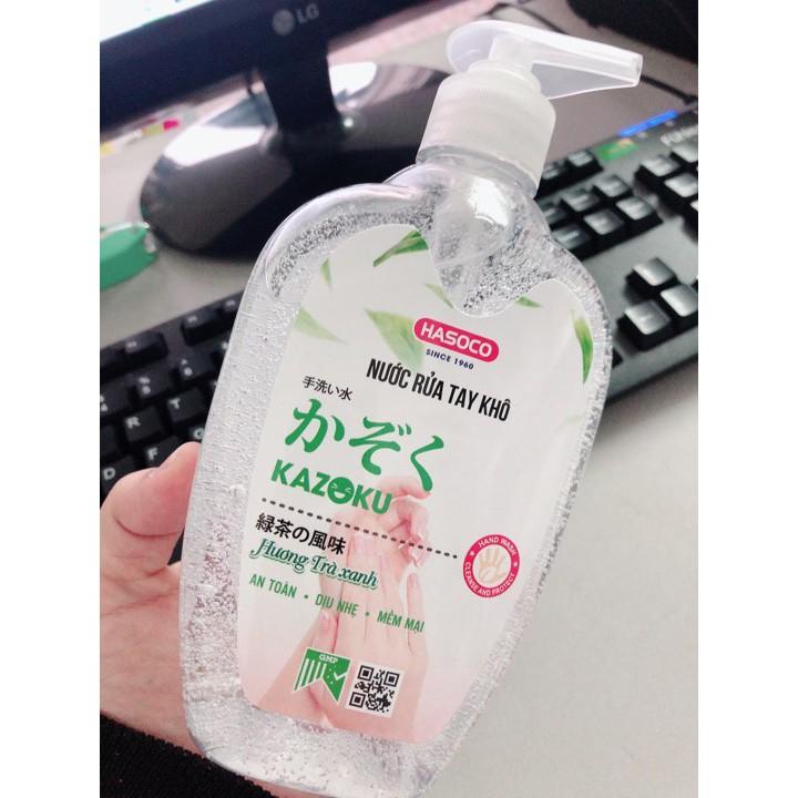 Sản phẩm nước rửa tay khô KAZOKU của Công ty CP Xà phòng Hà Nội.