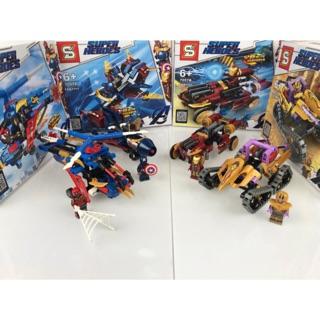 Đồ chơi lắp ráp Lego Marvel Super Heroes Sembo Block 7057