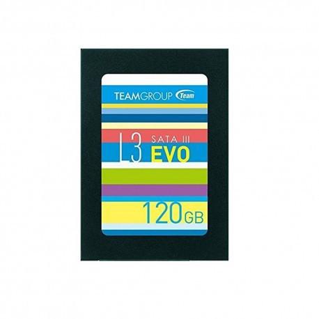 [Nhập ELCLMAY hoàn 30K xu đơn từ 200K]Ổ SSD Team Group L3 Evo 120GB – Hãng phân phối chính thức Giá chỉ 443.000₫