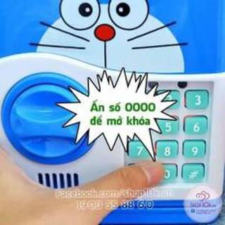 (GIẢM GIÁ) Két đựng tiền mini thông minh Hello kitty