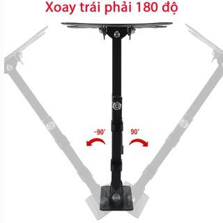 [Mã ELFLASH5 giảm 20K đơn 50K] Giá treo tivi góc đa năng 14-55 inch kéo gập và xoay góc 180 độ hàng nhập khẩu HDL-117B-2