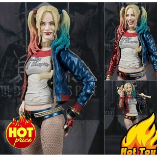 [SALE SỐC] Mô Hình Harley Quinn Suicide Squad Phong Cách SHF – S.H. Figuarts Full Box