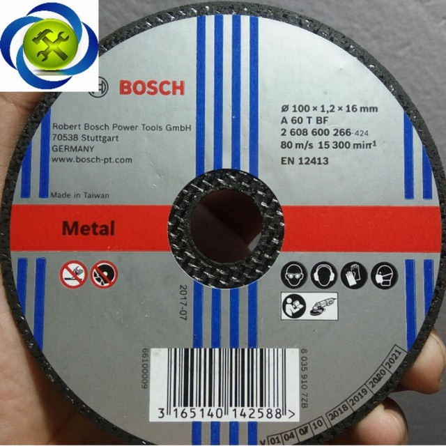Đá cắt sắt Bosxh 100 x 1.2 x 16mm - 3496503 , 701926382 , 322_701926382 , 12000 , Da-cat-sat-Bosxh-100-x-1.2-x-16mm-322_701926382 , shopee.vn , Đá cắt sắt Bosxh 100 x 1.2 x 16mm
