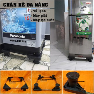 Đế máy giặt-Chân máy giăt-Kệ máy giặt tủ lạnh chống rung lắc Electro