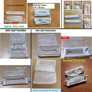 Túi lọc máy giặt [SIÊU RẺ] Lưới lọc máy giặt các hãng – chọn hãng, kích thước như hình