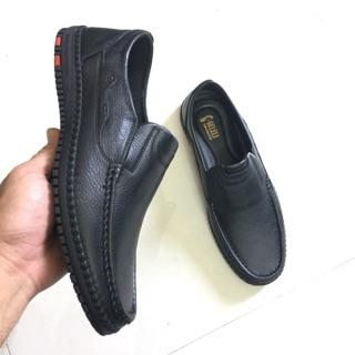 Giày nam da bò – Giày đốc lười da thật