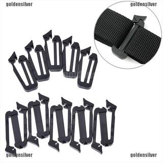 Set 5 khóa kẹp cố định dây đeo ba lô kiểu dáng đơn giản tiện dụng