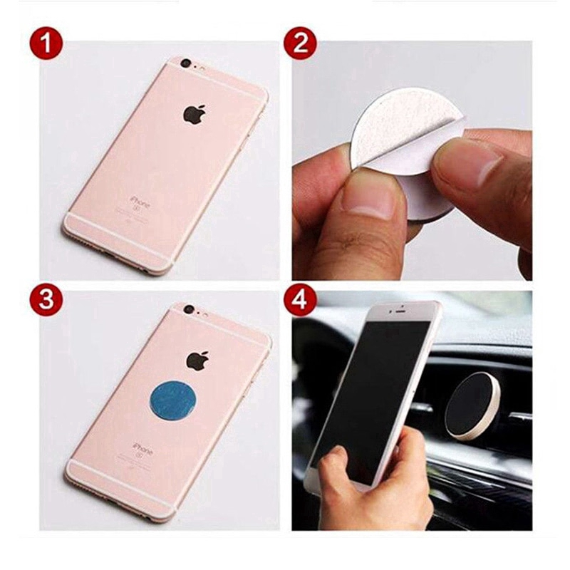 Universal Car Mount Holder Magnetic Car accessories Air Vent Aluminium Alloy ABS For iPhone Samsung GPS car Bracket Stand Holder Z2