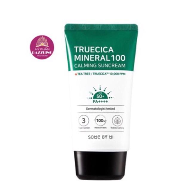 [Chính Hãng] Kem Chống Nắng Some By Mi Truecica Mineral 100 Calming Suncream 50ml