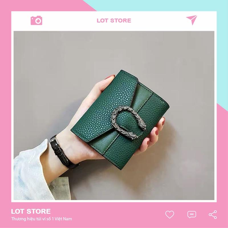 Ví nữ nhiều ngăn mini cầm tay đựng tiền nhỏ gọn bỏ túi VD200