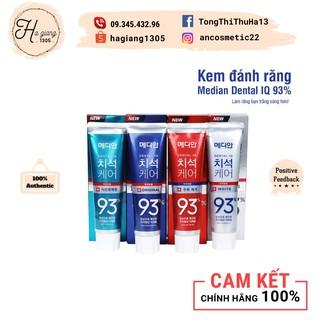 Kem đánh răng MEDIAN 93% Tooth-Paste Hàn Quốc, Kem đánh răng Hàn Quốc Median cho răng nhạy cảm