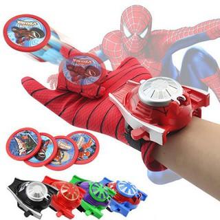 Amazing Spider-Man Gloves Children'S Toy Wrist Launcher Batman Gloves Anime Toy Iron Man