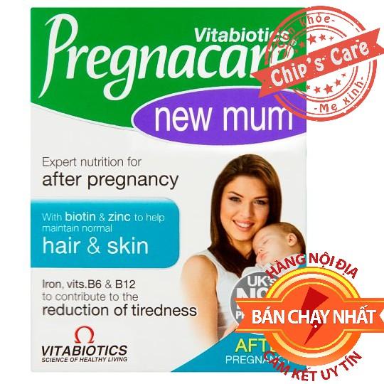 Vitamin Pregnacare New Mum Khôi phục Tóc và Da Cho Mẹ Sau