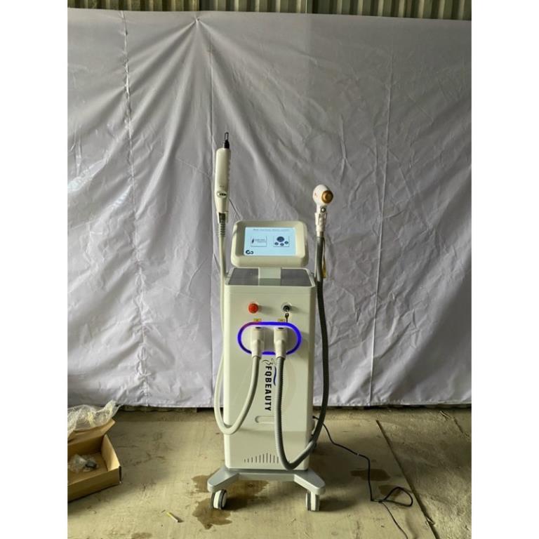 Máy triệt lông diode 808nm và laser xoá xăm công nghệ cao 2 trong 1