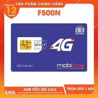 [CHỈ BÁN HÀ NỘI] [CAM KẾT ĐỦ 12 THÁNG] [VT_MaiLinh] SIM 4G Mobifone F500N / MDT250A Dùng 4G Trọn Gói 1 Năm Không Cần Nạp