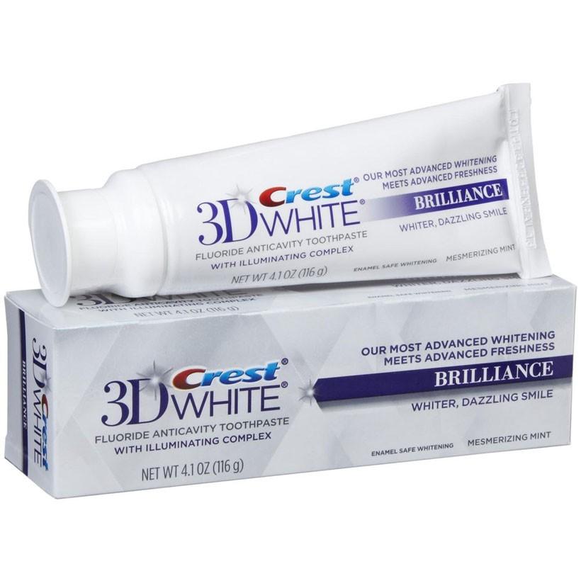 Kem đánh răng Crest 3D White Brilliance 116g   Shopee Việt Nam