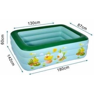 Bể bơi cho bé kèm bơm
