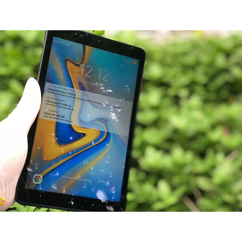 Máy Tính Bảng Samsung Tab A 8.0 4G LTE Mới 99% . Tặng Bao Da + Bàn Phím
