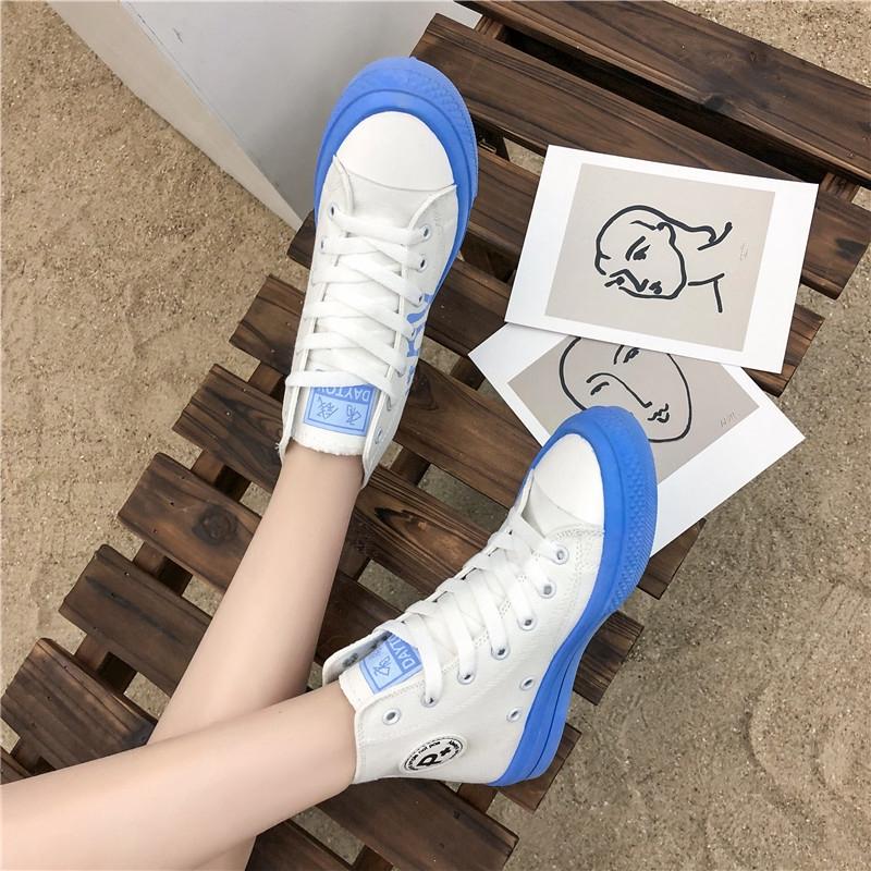 Giày Thể Thao Vải Thời Trang Dạo Phố Năng Động Dành Cho Nữ