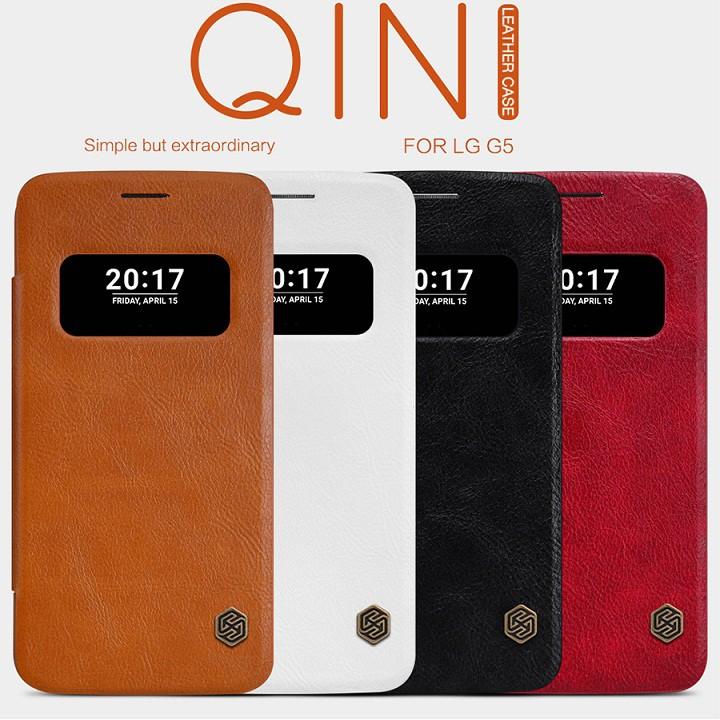 BAO DA LG G5 NILLKIN QIN CHÍNH HÃNG - 3475364 , 763234103 , 322_763234103 , 240000 , BAO-DA-LG-G5-NILLKIN-QIN-CHINH-HANG-322_763234103 , shopee.vn , BAO DA LG G5 NILLKIN QIN CHÍNH HÃNG