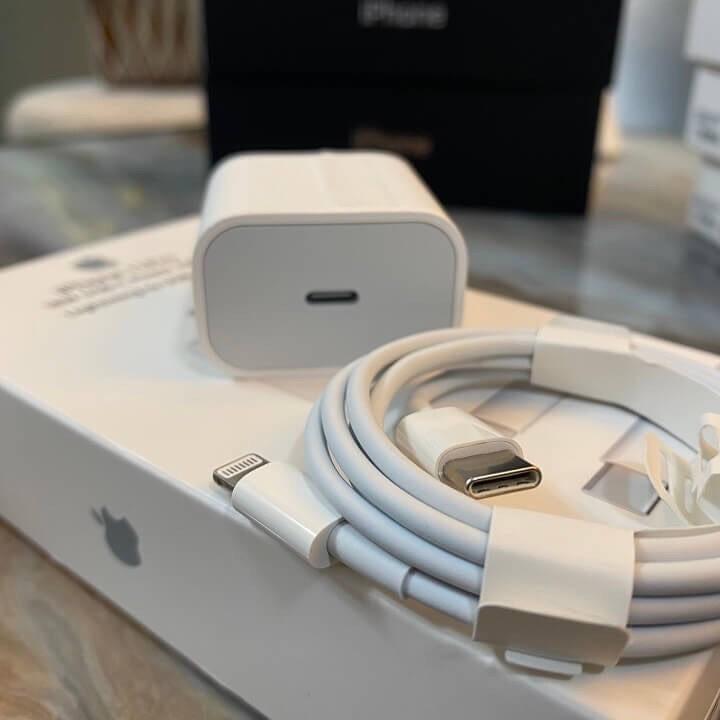 [Free Ship] Bộ Sạc Nhanh iPhone 18W iphone Công Nghệ PD-Sử Dụng Cho iPhone 11/11Pro/11 Pro Max / 8/8 Plus / X/Xs /Xs Max