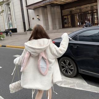 Áo Khoác Nữ – Áo Lông Tai thỏ – Hàng Quảng Châu Cao Cấp – VA101